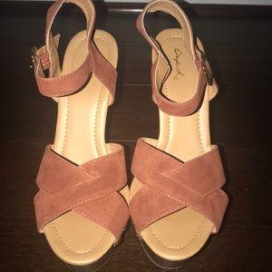 Brown heels!